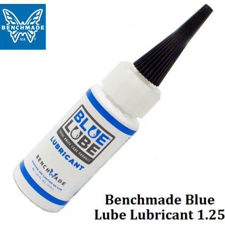 how to use benchmade blue lube